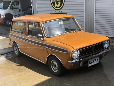 AUSTIN CLUBMAN ESTATE 入庫